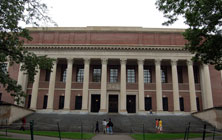 Widener Library - Harvard